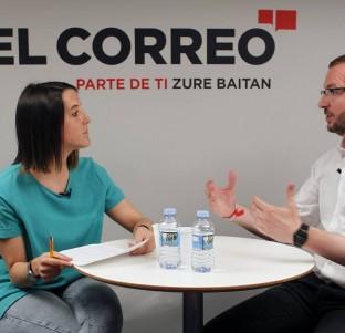 Videochat con Javier Maroto, candidato del PP a la Alcaldía de Vitoria