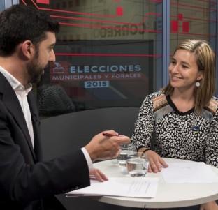Videochat con Aitziber Ibaibarriaga, candidata de EH Bildu a la Alcaldía de Bilbao