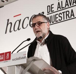 Videochat con Peio López de Munain, candidato del PSE-EE a la Alcaldía de Vitoria