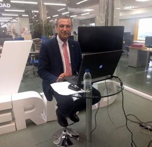 Videochat con Pedro Lozano, candidato a rector de la UMU